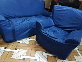 3 seater or 1 seater sofa set