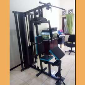 Alat Fitnes Murah Homegym 1 sisi bergaransi