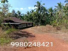 3 acres 70 cents land with old tiled house Kangana vitlla