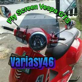 Ply Screen Modern Vespa GTS.Aksesoris Vespa GTS