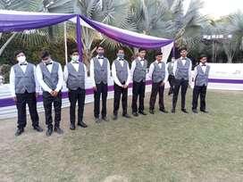 Staff waiters housekeeping security guard