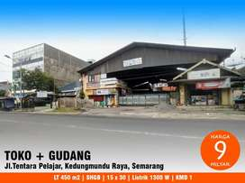 Ruma toko dan gudang Kedungmundu raya kota Semarang Unimus Fatmawati