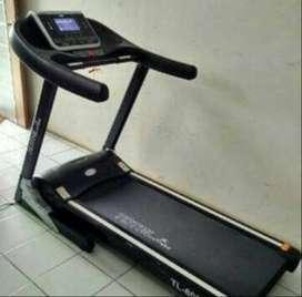 Promo new treadmill elektrik  komersial 1 fungsi HQ 8080