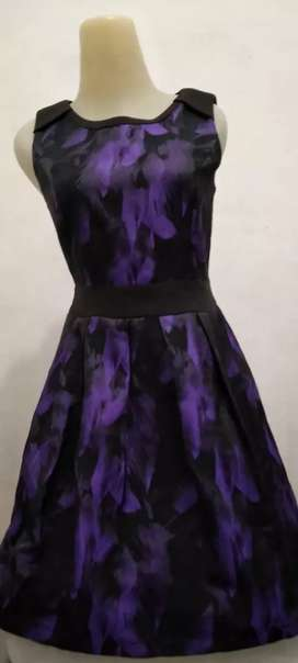 Dress mini ungu