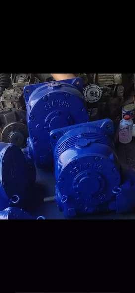 Reduction gear box induction motors