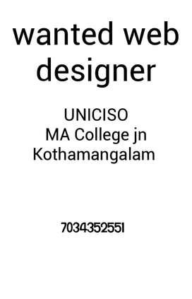 Web designer(female)