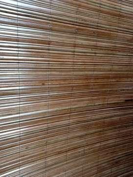 Tirai rotan,tirai bambu,dan kayu