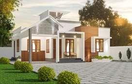 Minimum budget new Houses near Chingavanam-Kuzhimattom