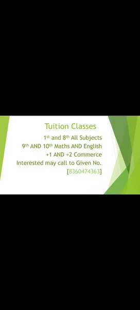 Tuition Classes for Students