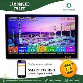 Toko Kebutuhan Jam Masjid TV LED Harga Terjangkau Kirim Sidoarjo