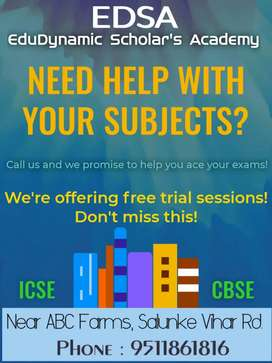 ICSE COACHING CLASSES 8TH 9TH & 10TH