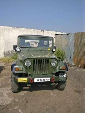 Mahindra MM-550 Army Disposal jeep