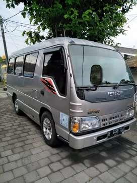 Elf Short Minibus 2014 + Kijang Inova 2008