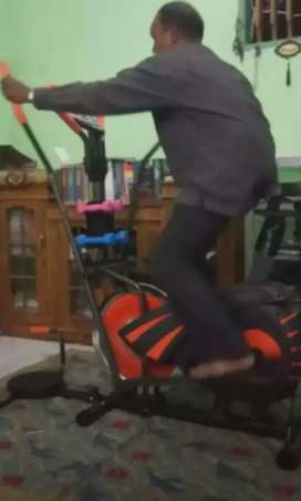 Sepeda statis 10 fungsi kebugaran kasporty