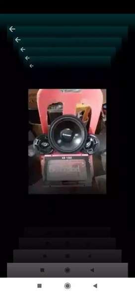 Power + subwofer 12 inch + speaker