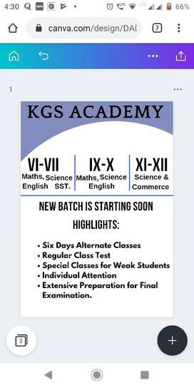 Home tuition math &science Class 6th-10th and math for 11th&12th