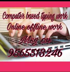 Highly qualified professional job full time part time home based work.