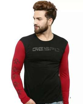Cotton full sleeves t shirts