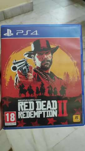 PS4 RED DEAD REDEMPTION 2 FOR SALE OR EXCHANGE