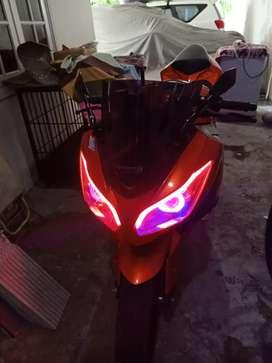 Dijual sepeda motor kawasaki ninja 250 original