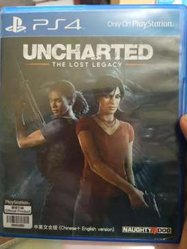 Bd ps 4 uncharted the lost legacy