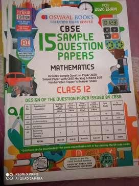 Oswal book mathematics and physics class 12