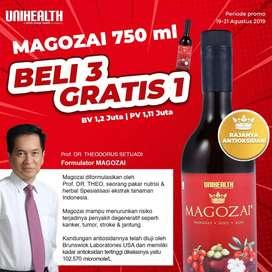 "MAGOZAI ORIGINAL 750ml "" Antioxidant Tinggi """