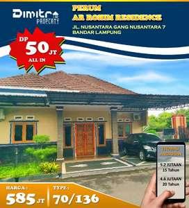 Perum Ar Rohim Type 70/136 Pusat Kota Bandar Lampung