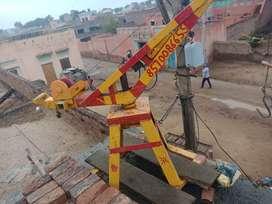 Saaman khinchne wli machine
