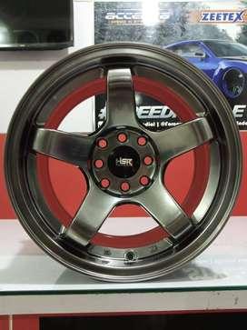 Velg Mobil HSR Tipe TENDON Ring15x7/8 (Ayla Brio Sigra Dll)