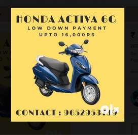 Honda Activa 6G this Eid, Get Down Payment upto 16000Rs