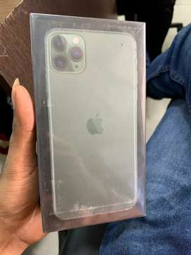 New Iphone 11 pro max 64 and 256 gb any color available