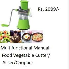 Multi-Functional Manual Food Vegetable Chopper Cutter