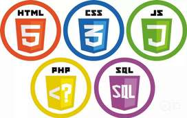 3 yrs experience HTML, PHP, JavaScript