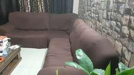 L type seven seater sofa