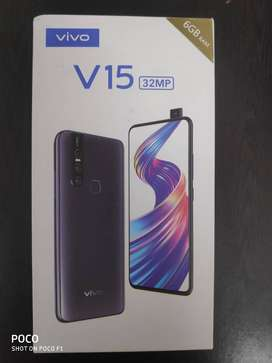 Vivo V15 (Frozen Black, 6GB RAM, 64GB Storage)