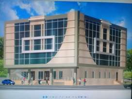 Commercial Plaza for rent/ Main road old satellite town/Sargodha