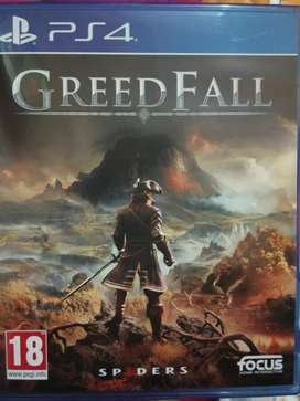 PS4 Greedfall second