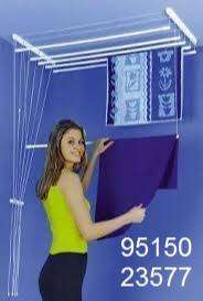 Ceiling cloth hang