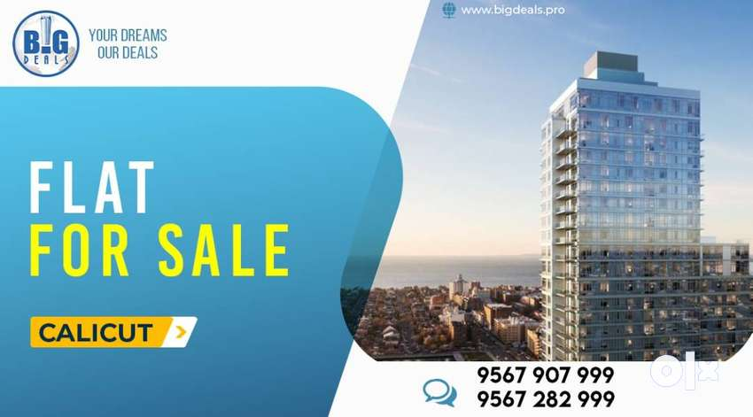 Looking For Spacious Luxury Flat in Beach area..Have a look..