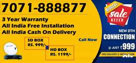 Tata Sky DTH - Tata sky connection @Lowest Price - Free Installation