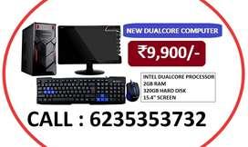 NEW DESKTOP COMPUTER Rs.9,900/-