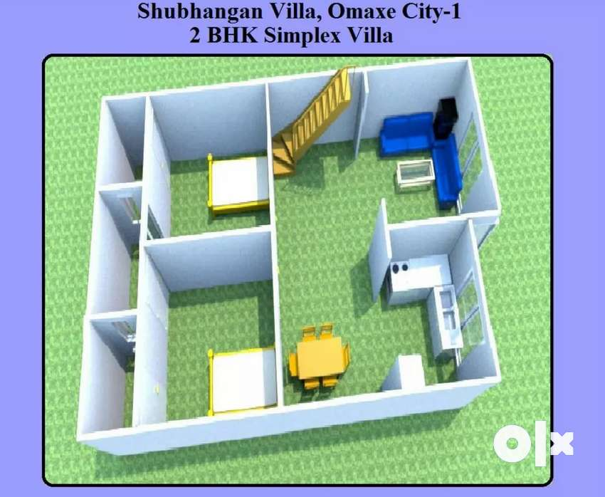 2BHK Residential Villa available in Omaxe City-1