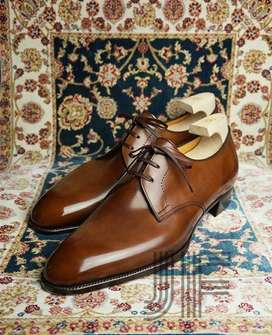 JF Derby Leather Formal Shoes