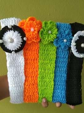 Woolen set hairband