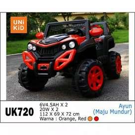 Mobil Mainan Aki Jeep UK720 Unikid