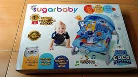 Bouncer sugar baby prwmium rocker 10 in 1