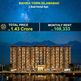2 Bed fully Luxury  furnished Apartment for Sale in Bahria Town ISB