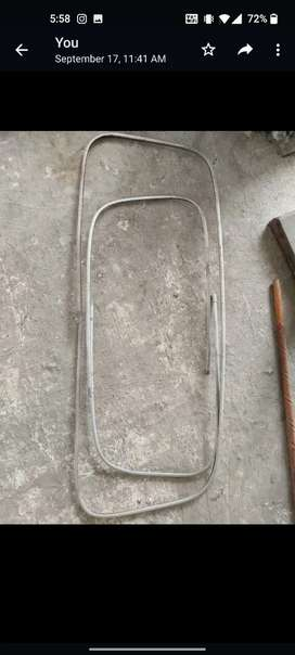 Fiat select front and back aluminium beedings