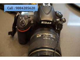 Nikon D800-Fx Body with 24-120 lens in Excellent Condition.